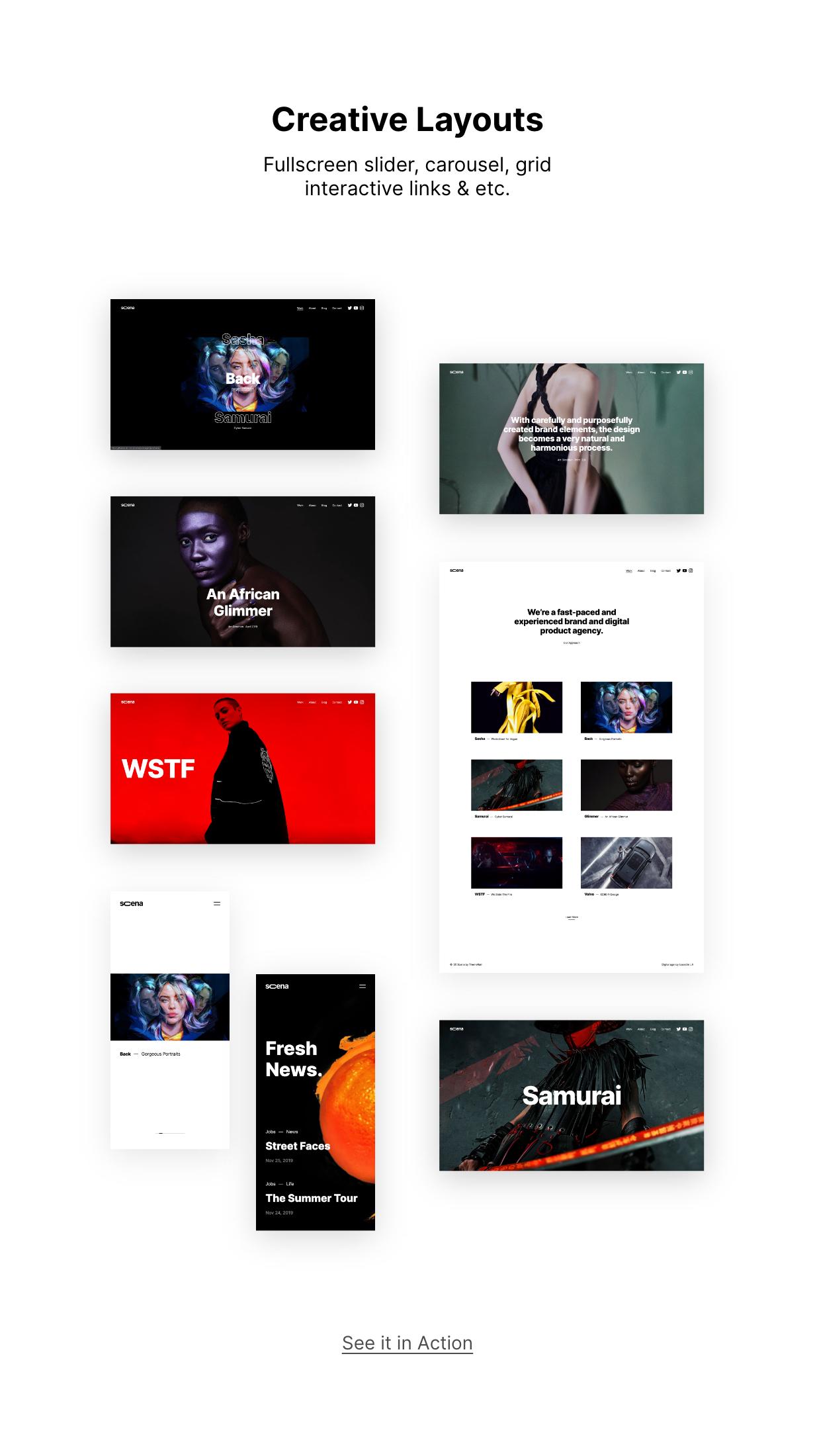 Scena WordPress Theme